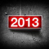 Frohes neues jahr 2013 — Stockfoto