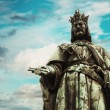Charles IV statue — Stock Photo