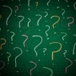 Royalty-Free Stock Photo: Question marks