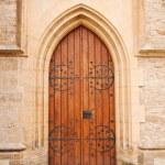 porta da igreja — Foto Stock