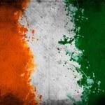 Ivory Coast flag — Stock Photo
