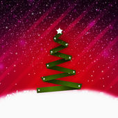Christmass tree — Stock Photo