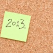 Stock Photo: Happy new 2013th year