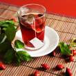Dog rose tea - Stock Photo