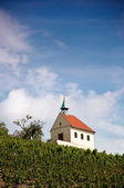Small chapel on the hill — Stock Photo