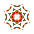 Kaleidoscope background — Stock Photo