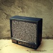 Old plastic TV — Stock Photo