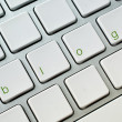Blog computer keyboard — Stock Photo
