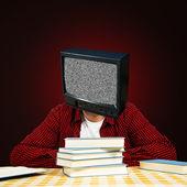 TV head — Stock Photo