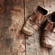 Old shoes — Stock fotografie