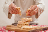 Rice cakes — Stock Photo