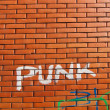 Постер, плакат: Punk grafitti
