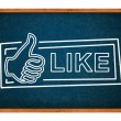 Like button — Stock Photo #19778947