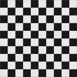 Black and white checkered floor — Stock Photo #19839071
