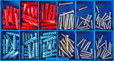 Jack screws in toolbox — Stock Photo