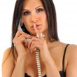 On The Phone — Stock Photo #2089723