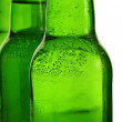 Green beer bottles — Stock Photo #20880951