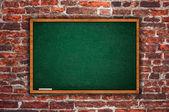 Empty chalkboard — Stock Photo