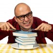 Hungry for knowledge - Stock Photo