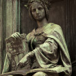 Corpus Juris Statue - Stock Photo