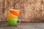 кофе кружки — Стоковое фото
