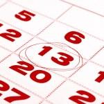 ������, ������: Thirteenth day in calendar detail