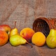 Various fresh fruit - Stock Photo