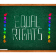 Equal rights — Stock Photo #22591791