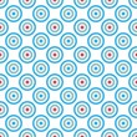 Mosaic design template — Stock Vector