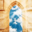 Stock Photo: Heaven's gate