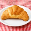Corissant on white plate - Stock Photo