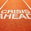 Stock Photo: Crisis ahead