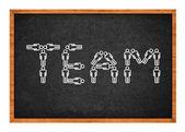 Team figures — Stock Photo
