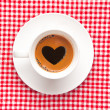 Love coffee cup — Stock Photo #23684535