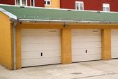 Carro na garagem — Foto Stock