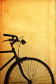 Old vintage bicycle — Foto Stock