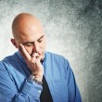 Businessman worry — Stock Photo