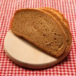 Stock Photo: Wheat oat bread with sesame