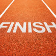 Finish lane - Stock Photo