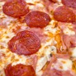 pizza de pepperoni close-up — Foto Stock