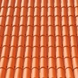 Stock Photo: Roof texture tile