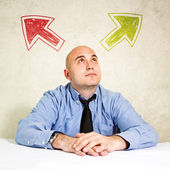 Business choice or making decision — Stock Photo