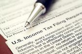 нас налоговые формы 1042 — Стоковое фото