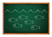 Plenty of fish in the sea — Stock Photo