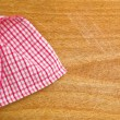 Table napkin — Stock Photo