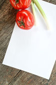 Vegetable on table — Stock Photo