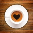 Love coffee cup — Stock Photo