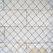Stock Photo: Metal grid fence