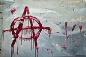 Anarchy graffiti — Stock Photo
