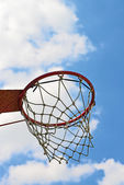 Basket hoop — Stockfoto